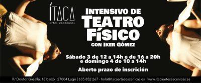 Intensivo de Teatro Físico con Iker Gómez